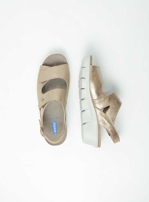 wolky sandalen 00651 star 02150 taupe biocare top
