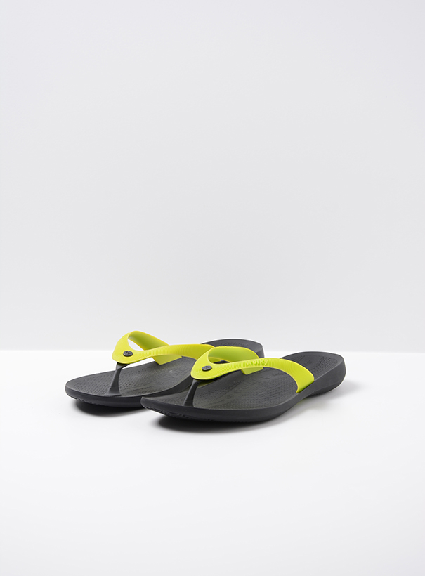 wolky slippers 01200 beach babes 90900 geel tpu front
