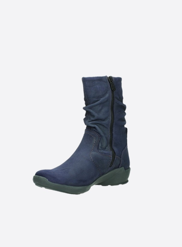 wolky extra comfort 01572 luna 11600 paars nubuck front