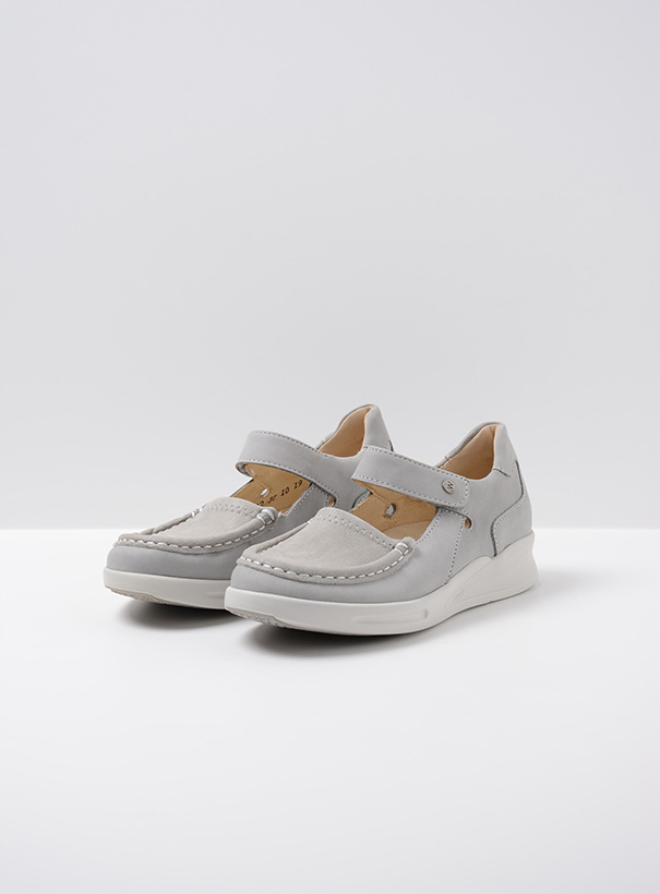 wolky extra comfort 05902 two 10206 lichtgrijs stretch nubuck front