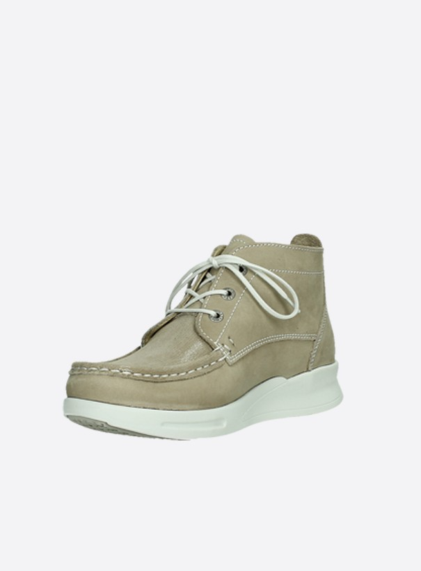 wolky extra comfort 05906 six 10390 beige stretch nubuck front