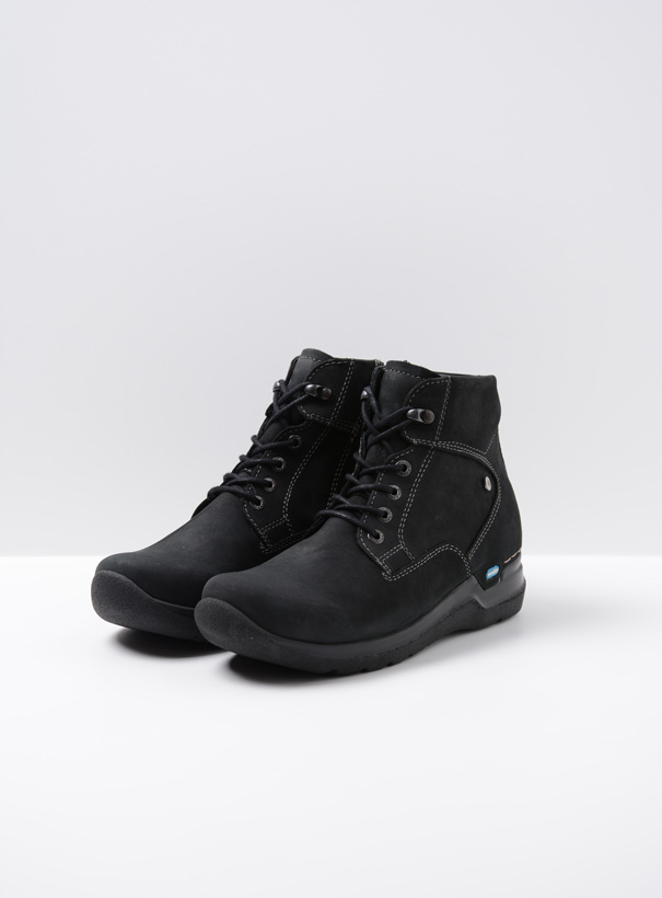 wolky extra comfort 06612 whynot 16000 zwart nubuck front