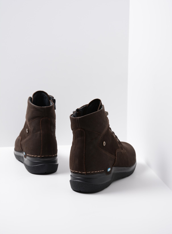 wolky extra comfort 06612 whynot 16305 donkerbruin nubuck back