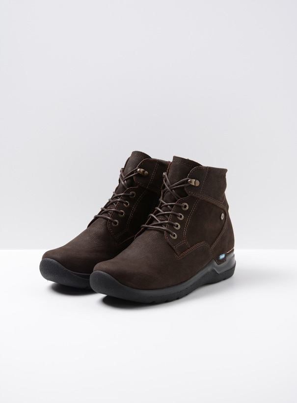 wolky extra comfort 06612 whynot 16305 donkerbruin nubuck front