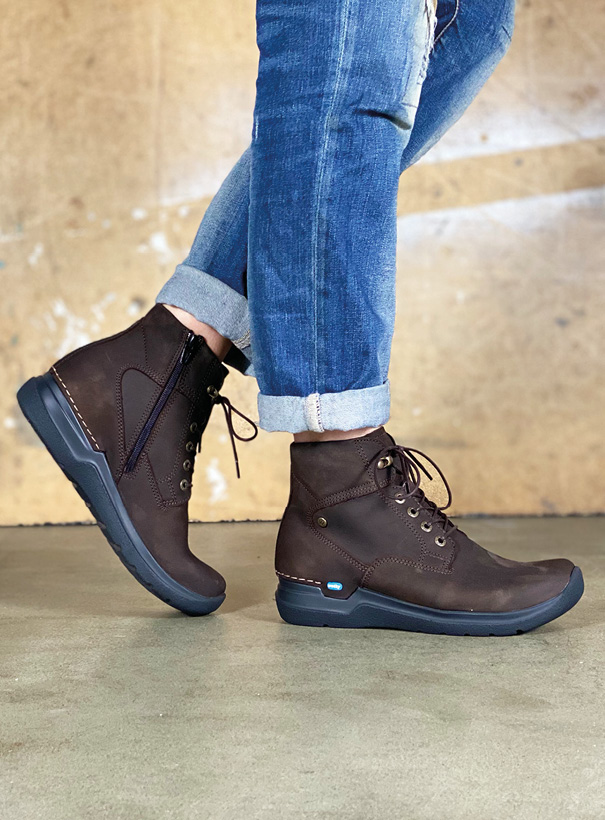 wolky extra comfort 06612 whynot 16305 donkerbruin nubuck sfeer