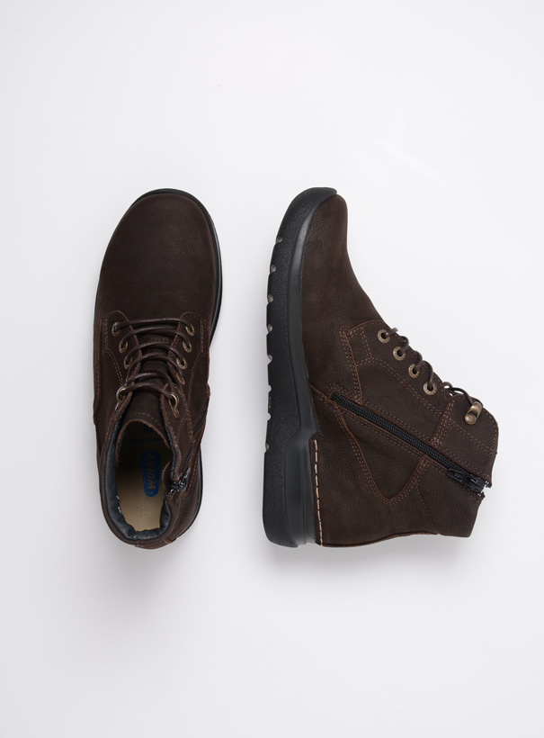 wolky extra comfort 06612 whynot 16305 donkerbruin nubuck top