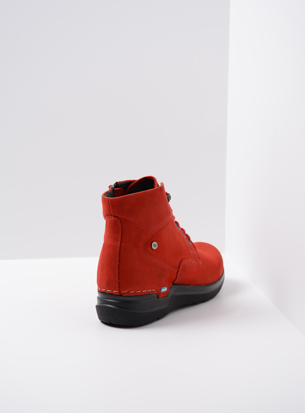 wolky extra comfort 06612 whynot 16505 donkerrood nubuck back