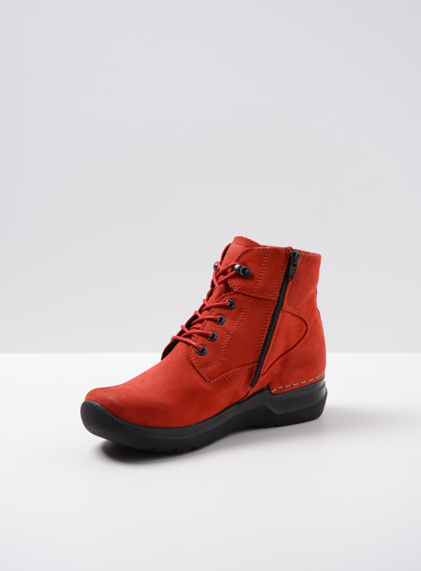 wolky extra comfort 06612 whynot 16505 donkerrood nubuck front