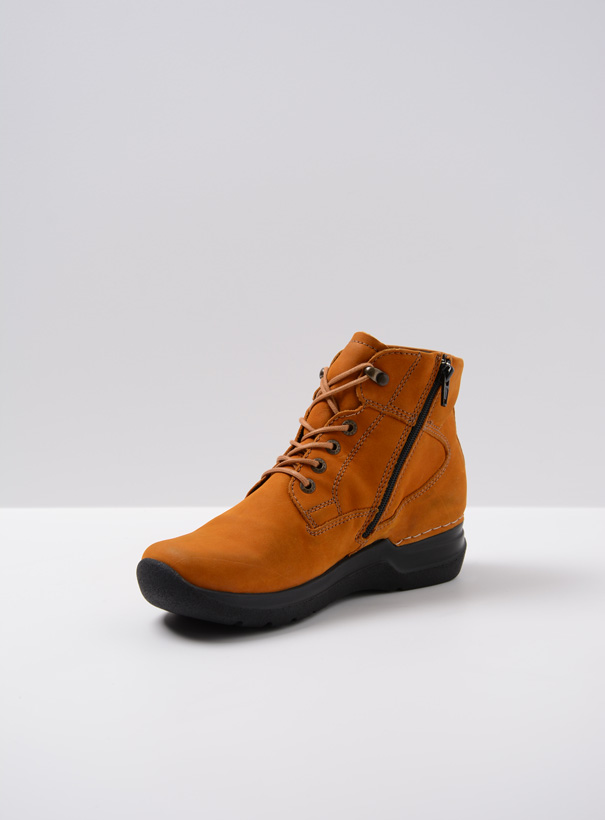 wolky extra comfort 06612 whynot 16925 donker oker nubuck front