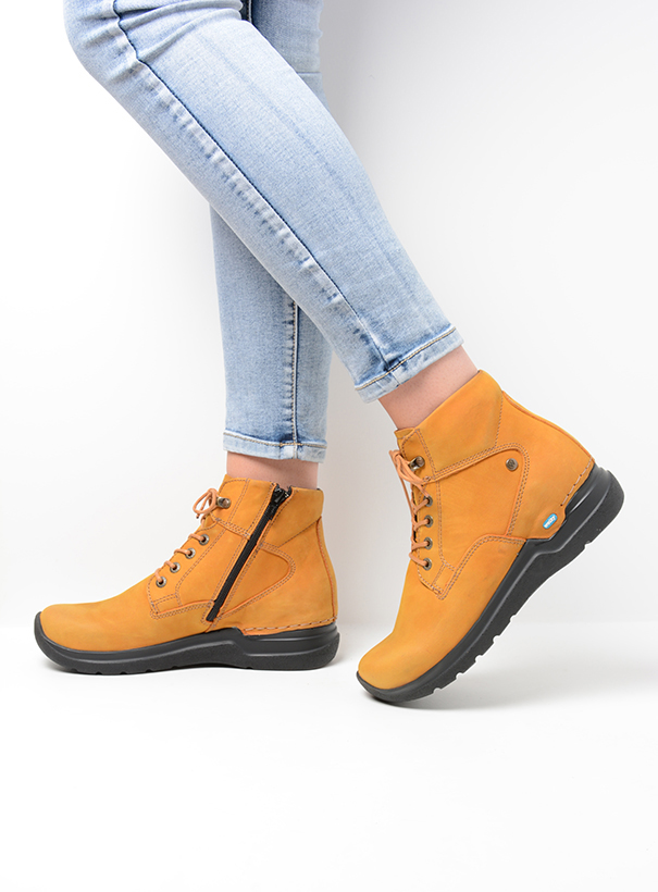 wolky extra comfort 06612 whynot 16925 donker oker nubuck sfeer