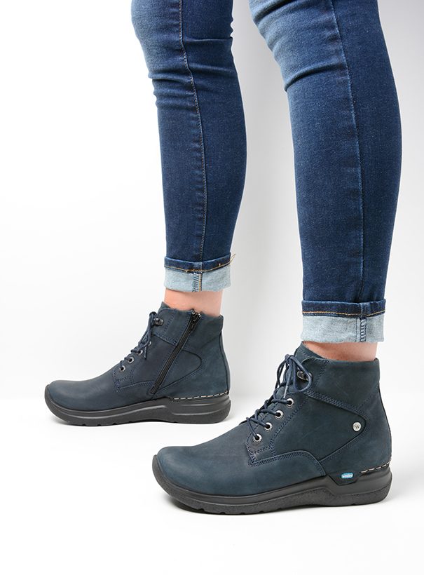 wolky extra comfort 06616 whynot hv 16800 blauw nubuck detail