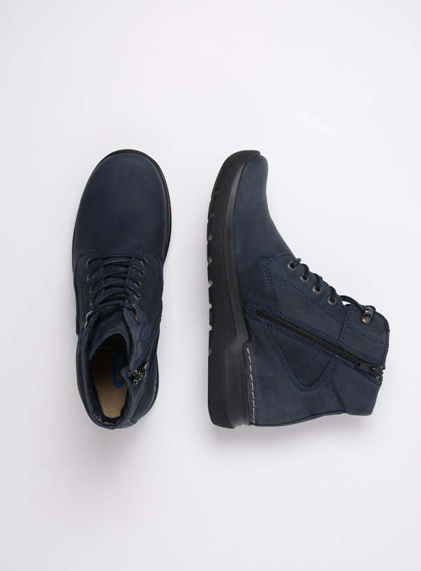 wolky extra comfort 06616 whynot hv 16800 blauw nubuck top