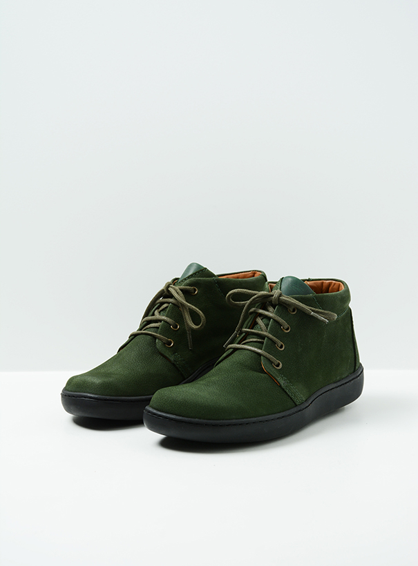 wolky extra comfort 08100 kansas lady xw 11735 forestgroen nubuck front