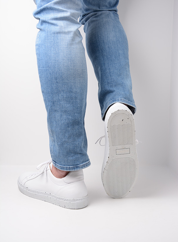 wolky sneakers 09483 forecheck 20100 wit leer detail