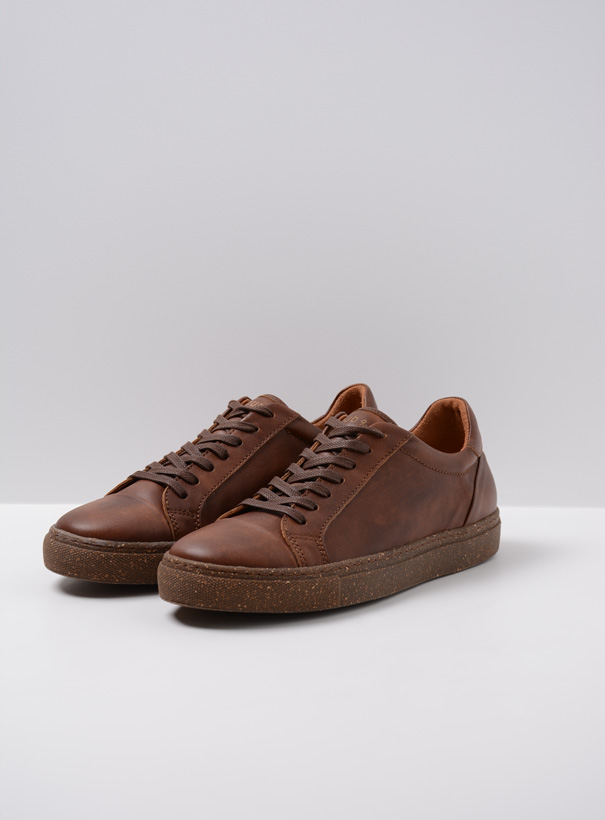 wolky sneakers 09483 forecheck 22430 cognac leer front